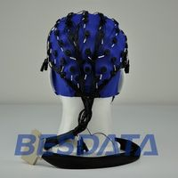 Comfortable Neurofeedback EEG Electrode Cap 19 Channel Research Use cap