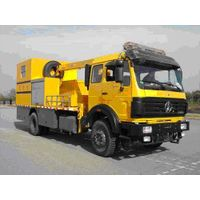 Beiben tow truck 4x2, emergency truck, North Benz, Mercedes-Benz technology