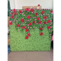 artificial flower wall wedding fower wall