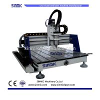 China small machines to make money 3 axis cnc router wood