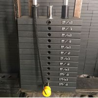 Weight stack pin/selector for Life fitness