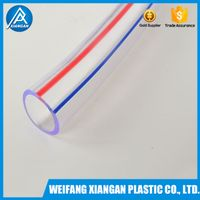 ISO standard clear PVC transparent soft pipe