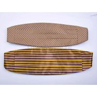 Custom microfiber woven cummerbundscummerbunds for sale Custom silk cummerbunds
