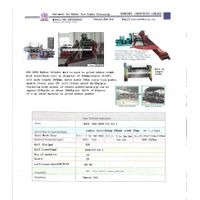 rubber crack mill for waste tires grinding