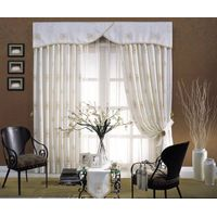 hotel linen--curtains & shower curtain