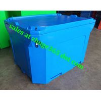 Oversized 1000Litre Blue Insulated Fish Container thumbnail image