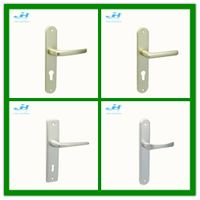Aluminum Handle Oxidation finishing Mortise door lever handle hot sales in cheap price thumbnail image