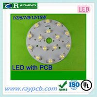 For LED bulb 12v round pcb board factory thumbnail image
