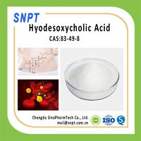 Hot Sale&Fresh Stock 99% Hyodesoxycholic Acid HDCA CAS 83-49-8, Manufacturer Supply EP USP BP JP