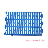 Plastic fecal leakage plate mould