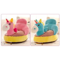 New arrival OEM soft stuffed plush animal baby sitting sofa chair for kids gift thumbnail image