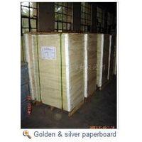 gold paperboard