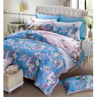 Luxury jacquard and reactive printed bedding sets, sheet sets, duvet cover, fitted sheet