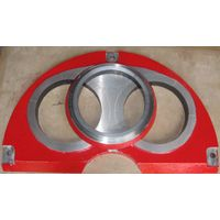 concrete pump spare parts Sermac wear plate and cutting ring DN200 thumbnail image