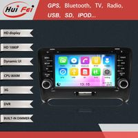 Stereo in car cd dvd audio player GPS navigation manufactory in china Support bluetooth phonebook
