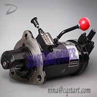 Diesel engine fire fighting pump starter