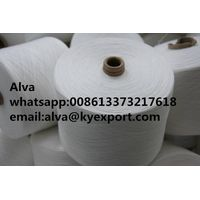 polyester spun yarn for weaving