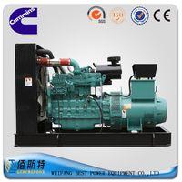 Cummins brand 300KW Diesel generator set open type