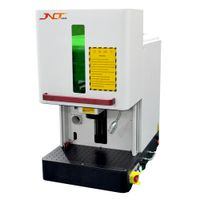 50W small sealed fiber laser marking machine