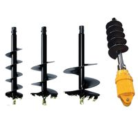 8-13t Adh Series Excavator Power Head Attachment Hydraulic Auger Drive Suit for Sale thumbnail image