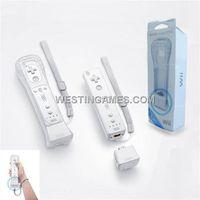 Motion Plus with Silicone Sleeve for Wii Remote White (JP)