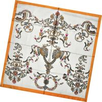 Lady's Fashion Print Silk Twill Scarves thumbnail image