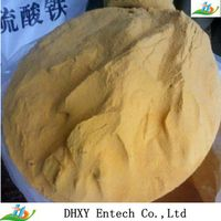 poly ferric sulfate water treatment chemicals
