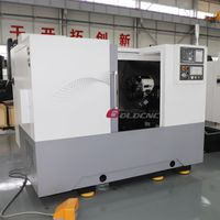 Slant bed CNC lathe CK500L CNC turning center automatic CNC lathe machine
