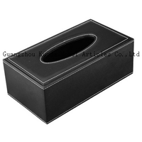 leather home paper box, office desktop tissue box, car paper box, tissue box PJ-001