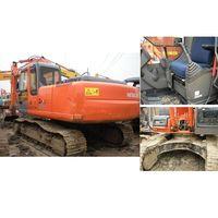 Excavator Hitachi ZX200, used crawler excavator thumbnail image