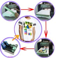 T-shirt printer smart flat digital printer