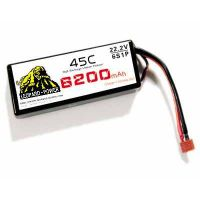 RC LiPo Battery 6200mah-6S-45C