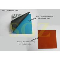 Pre-sensitized Zinc Plate (Coated Photoengraving Zinc Plate)