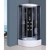 OEM manufacturer whirlpool steam massage tempered glass bathroom shower enclosure /shower cabin /sho