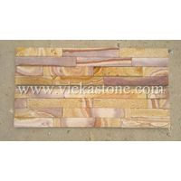 nature sandstone culture stone Stacked wall Panels