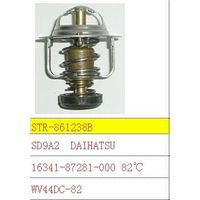 Thermostat and thermostat housing use for 16341-87281-000 DAIHATSU