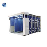 Yahui boat paint equipment spray booth retractable spray booth thumbnail image