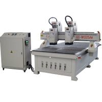 DOUBLE SEPERATE SPINDLES VACUUM SUCTION FURNITURE MAKING CNC ROUTER thumbnail image