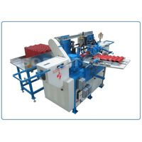 Paper Tube Nosing and Base Polishing Machine