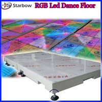 RGB color-changing LED Dance Floor Light thumbnail image