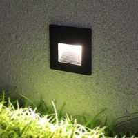 3W Wall Light Outdoor Step Waterproof Driveway Staircase Light IP65 Garden Step Floor Corner Ground thumbnail image