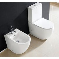 EAGO Brand new two piece toilet suite with bidet