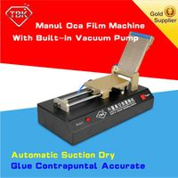 Manual OCA film laminating machine with vacuum pump for LCD refurbishment