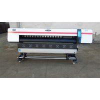 1.8m Wide Format Printer Eco Solvent Vinyl Sticker Printer Machine thumbnail image