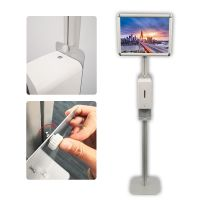 sanitizer soap dispenser floor stand