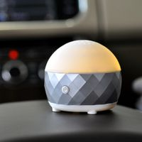 OSUMAN orginal design lovely USB and car use warm light essential oil aroma diffuser for car use