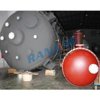 Fluoroplastic lining tank PTFE acid collector