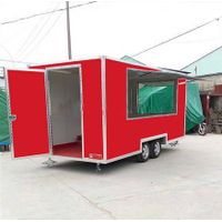 ice cream cart with slide door mobile food truck for sale thumbnail image