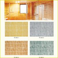 Decorative MDF Tile series wall paneling for bathroom/kitchen decoration