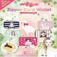 [ENAKEI] Zipper Card Wallet